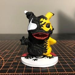 VP 2_6.jpg Download STL file Venom Pikachu • 3D printable object, ZMilab