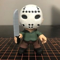 Jason Voorhees.jpg Download STL file Jason Voorhees Mini - Friday the 13th • 3D printing template, ZMilab