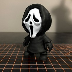 Ghostface.jpg Download STL file Ghostface Mini - Scream • 3D printing object, ZMilab