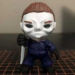 Michael Myers.jpg Download STL file Michael Myers Mini - Halloween • 3D printer object, ZMilab