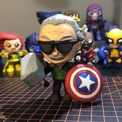 Stan Lee.jpg Download free STL file Stan Lee - Marvel • 3D print model, ZMilab