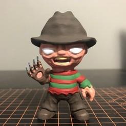 Freddy.jpg Télécharger fichier STL Freddy Kreuger Mini - Cauchemar sur la rue Elm • Design à imprimer en 3D, ZMilab