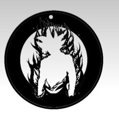 goku ultra2.jpg Download free STL file goku pendant utra instinct • 3D print model, ideasyconfecciones3d