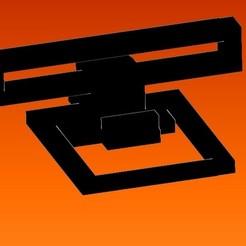 soporte mueble 2.jpg Télécharger fichier STL gratuit une assistance téléphonique de base étendue • Objet pour impression 3D, ideasyconfecciones3d