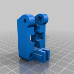 Wade-EXTRUDER-IDLER-with-guide_strengthened.png Download free STL file Greg's Wade Strengthened Extruder Idler 3mm filament • 3D printable model, DjDemonD