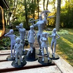 IMG_0797.jpg Download STL file The Seven Deadly Sins Pack • 3D printer model, 4224fish