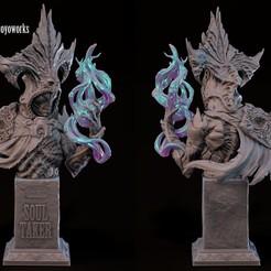2.jpg Download STL file undead collection 'Soul Taker' • Design to 3D print, goyoworks