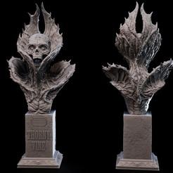 vine.jpg Download STL file UNDEAD collection - THORNY VINE • Model to 3D print, goyoworks