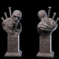 deboner.jpg Download STL file UNDEAD collection - DEBONER • 3D printable template, goyoworks