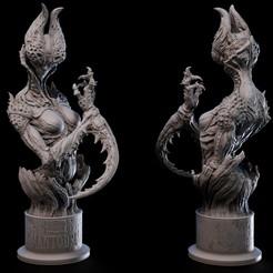 mentishe.jpg Download STL file Demon collection - MENTODEA • 3D printing object, goyoworks