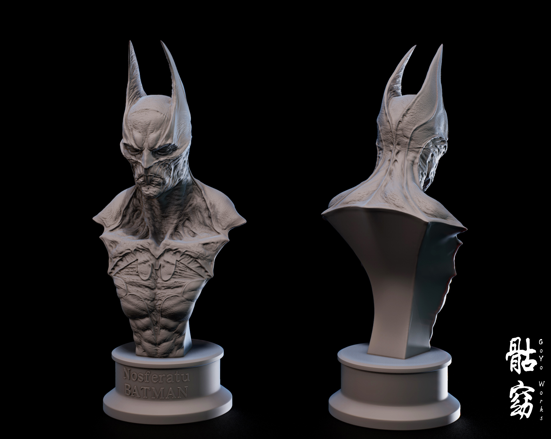 bat.jpg Descargar archivo STL Nosferatu BATMAN • Plan imprimible en 3D, goyoworks