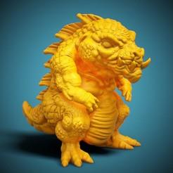 CHIBI-01-FR-01.jpg Télécharger fichier STL gratuit Le monstre CHIBI - 01 • Design imprimable en 3D, LaloBravo