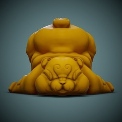 Bear-Print-01.jpg Download free STL file Cute Bear • 3D printer template, LaloBravo