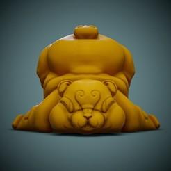 Bear-Print-01.jpg Télécharger fichier STL gratuit Ours mignon • Modèle pour imprimante 3D, LaloBravo