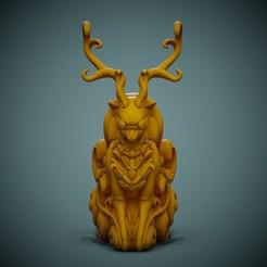 Deer-Print-01.jpg Download STL file Cute Deer • 3D printing object, LaloBravo