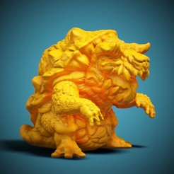 CHIBI-02-FR-01.jpg Download STL file CHIBI Monster - 03 • 3D print object, LaloBravo