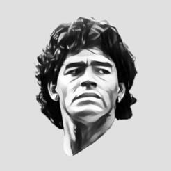 Descargar archivo STL gratis Maradona argentina futbol • Plan para la impresión en 3D, javocordoba