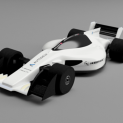 PERSP 2.png Download STL file RC car formula • 3D printer model, javier95mb