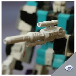 six1.jpg Download STL file Titans sixshot toy weapon and effect piece • Design to 3D print, CJI