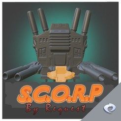 extras1.jpg Download STL file S.C.O.R.P. Request Pack • 3D printable template, CJI
