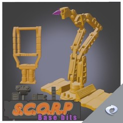 base1.jpg Télécharger fichier STL gratuit S.C.O.R.P. Bits de base (parties en mode ville) • Modèle pour impression 3D, CJI
