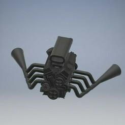 _MODROD_FORD_ENGINE_V8_012 (4).jpg Télécharger fichier STL MOD ROD (HOT ROD ) Engine Diecast 1/64 • Modèle à imprimer en 3D, PWLDC