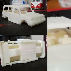 TOYOTA KIJANG (4).jpg Download STL file Toyota Kijang Diecast 1/60 Scale • 3D printer template, PWLDC