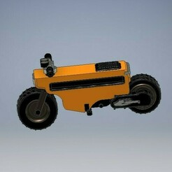 041_motocompo_041.jpg Download STL file Motocompo Brat Style Diecast 1:64 Scale • 3D printer model, PWLDC