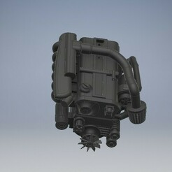 021_RB25DET_R33Engine_021.jpg Download STL file RB25DET Diecast Engine Nissan Skyline R33/R32 • 3D print model, PWLDC