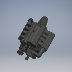 022_F20_s2000_engine_022 (2).jpg Download STL file F20 Diecast Engine Honda S2000 • 3D printing model, PWLDC
