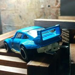 024_porsche_rwb_024 (1).jpg Download STL file Porsche Engine Diecast Hot Wheels 1/64 Scale • 3D print model, PWLDC