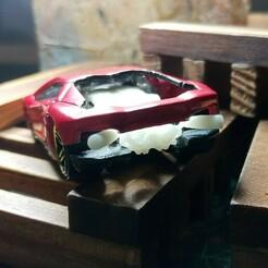 023_LAmbo_v12_023 (3).jpg Download STL file Lamborghini Engine V12 Diecast Hot Wheels 1/64 Scale • 3D print design, PWLDC