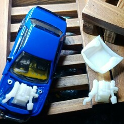 silvia s13 (3).jpg Télécharger fichier STL SR20Det Nissan Silvia S13 Inc Engine Bay • Plan à imprimer en 3D, PWLDC