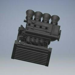 025_EK9_B12A_CIVICEK9_025 (2).jpg Download STL file B12A Engine EK9/EG Diecast 1/64 Scale • 3D printing design, PWLDC