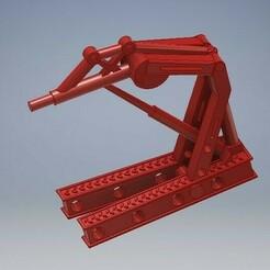 031_Engine_lift-031.jpg Download STL file Engine Crane Diecast 1/64 Scale • 3D printer design, PWLDC