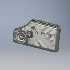 DOOR TRIM 1.jpg Download STL file Old Cars Door Trim Panel 1/64 Scale • Template to 3D print, PWLDC