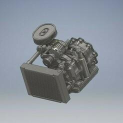 050_Engine_rotary13B_IDA_Mazda_RX_050 (3).jpg Download STL file Rotary Engine 13B With IDA Mazda RX 7 Diecast 164 Scale • 3D print design, PWLDC