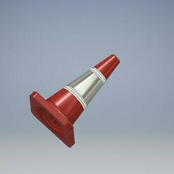 028_Traffic_Cone_028.jpg Download STL file Traffic Cone 1/64 Scale • 3D printable object, PWLDC