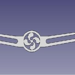 salvaorejas_lauburu.jpg Télécharger fichier STL Economiseur d'oreilles avec lauburu • Modèle imprimable en 3D, aranzabalgarcia