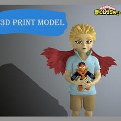 hawx_logo.jpg Download STL file Keigo Takami young my hero academia • 3D printer model, maxgivpro