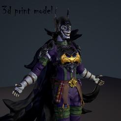 bat_1st1.png Download STL file Batjoker • 3D printable object, maxgivpro