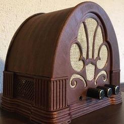 FRONT_1.JPG Download STL file OLD RADIO AMPLIFIER CASE • 3D print object, marcopolohernandez