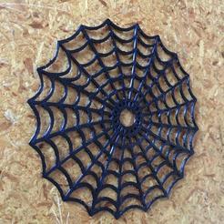 spiderweb_02.jpg Télécharger fichier STL gratuit toile d'araignée • Plan à imprimer en 3D, marcopolohernandez