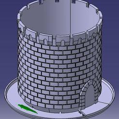 castle_planter.JPG Télécharger fichier STL gratuit Château de poterie Planter Castle • Modèle imprimable en 3D, marcopolohernandez