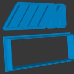 Catalogue.png Download STL file BMW M Logo Cookie Cutter 2 piece • 3D printer model, vishalkanhai82