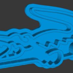 catalogue.png Download STL file Lacoste Crocodile Cookie Cutter • 3D print model, vishalkanhai82