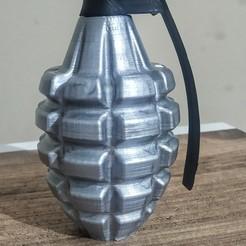 image.jpeg Download STL file Hand Grenade • 3D print design, stonebreaker