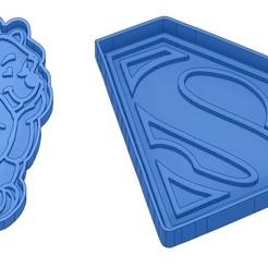 Sans titre 9.jpg Download GCODE file Biscuit Moulds - Captain América - Superman -Spiderman - Winnie the pooh - Winnie the pooh - Cookie cutter - Cookie cutter- Biscuit cutter • 3D printable design, cfl0