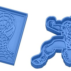 Sans titre 12.jpg Download GCODE file Biscuit Moulds - Captain América - Superman -Spiderman - Winnie the pooh - Winnie the pooh - Cookie cutter - Cookie cutter- Biscuit cutter • 3D printable design, cfl0