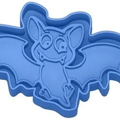 Sans titre 21.jpg Télécharger fichier GCODE Moules à Biscuit - Halloween - Sorcière - Citrouille - Fantôme - Araignée - Chauve-Souris - Emporte-pièces - Cookie cutter- Coupe Biscuit • Plan pour impression 3D, cfl0